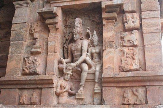 Gangaikonda Cholapuram: coppia