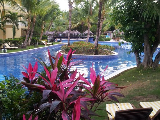 Dreams Punta Cana Resort & Spa: The view from our swim out room