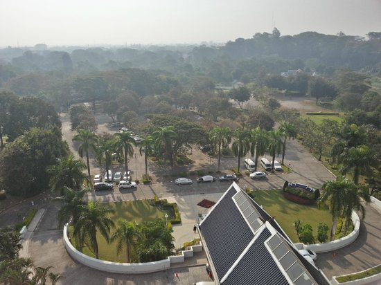 Dusit D2 Chiang Mai: View from the roof of the grounds
