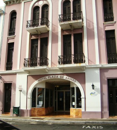 Hotel Plaza De Armas: The outside of the hotel