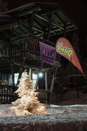 Salla Ski Resort: Lift pass office / ski rental building