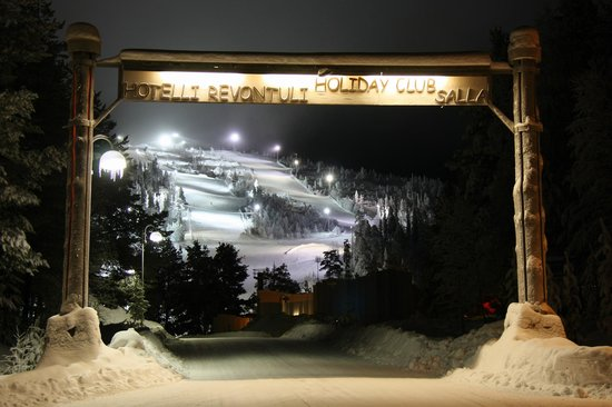 Salla Ski Resort : The front slopes await