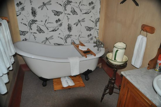 Askari Game Lodge & Spa: Bathtub