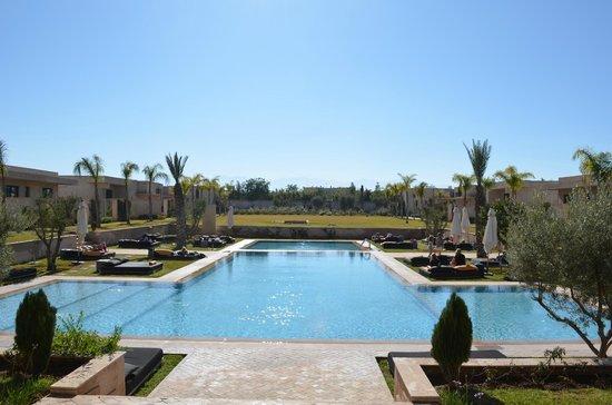 Sirayane Boutique Hotel & Spa : magnifique vue sur l'atlas