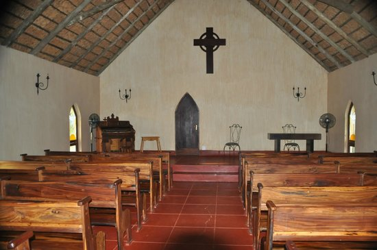 Askari Game Lodge & Spa: Inside Church