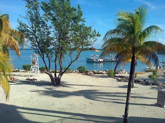 Hotel Riu Montego Bay : Near the Jerk Chicken hut - yum!