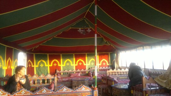 Moroccan House Hotel: Breakfast Tent