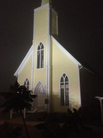Avonlea Village: This old church is over 100 yrs old. Attended by Montgomery