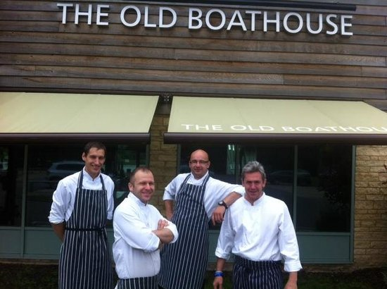 The Old Boathouse: Chef and his team