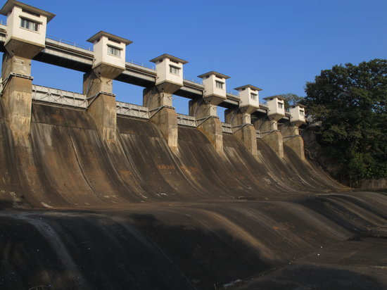 Jamshedpur, Indien: the dam
