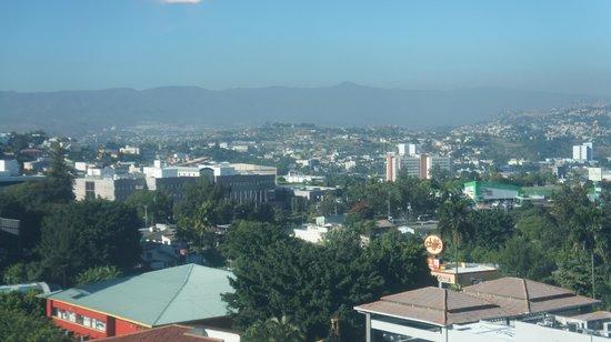 Tegucigalpa Marriott Hotel: Vista desde el sexto piso