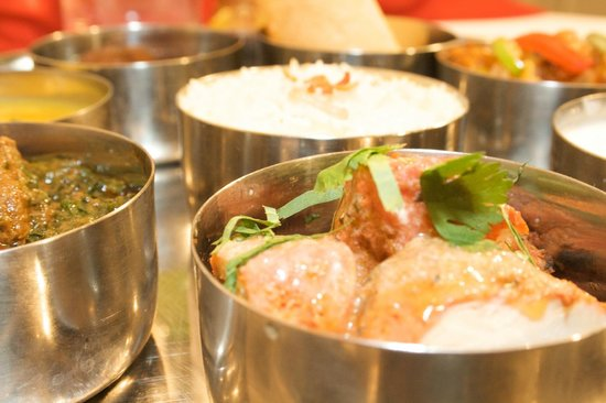 Cafe Naz: Thali