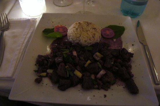 Amedros: uno dei piatti