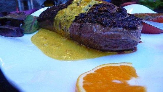 La Bodega : Magret au miel