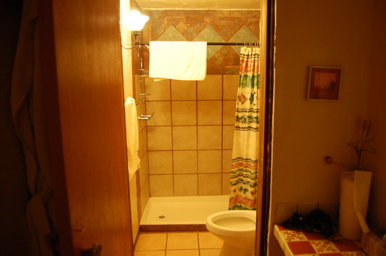 Casa de Suenos Country Inn: The Shower