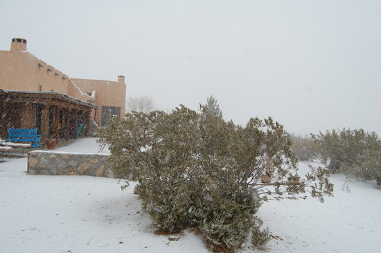 Casa de Suenos Country Inn: Desert Snow