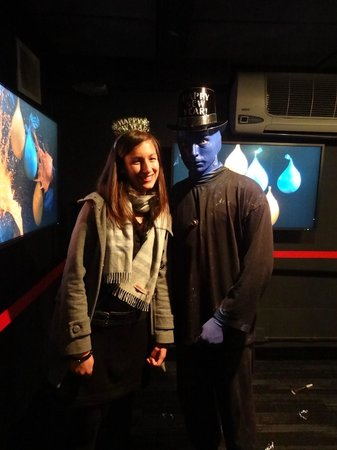 Blue Man Group: At the end of the show