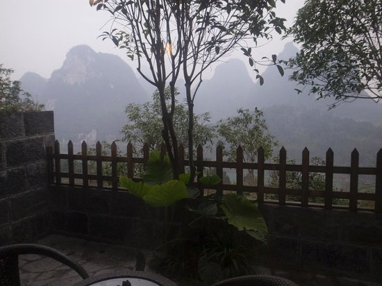 Yangshuo Dongling Resort: view from the balcony