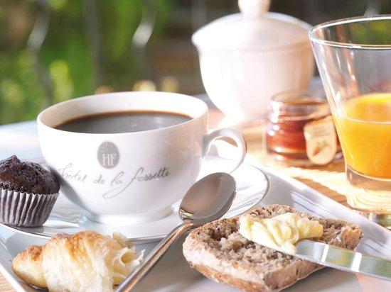 Hotel de la Fossette : Petit Dejeuner