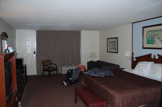 BEST WESTERN Inn of Del Rio: my room(211)