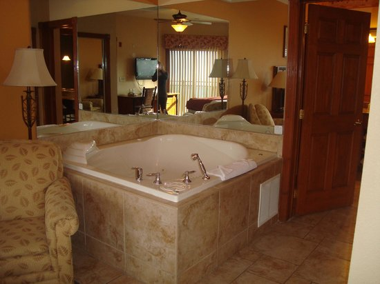 Westgate Smoky Mountain Resort & Spa: 1 bed deluxe jacuzzi