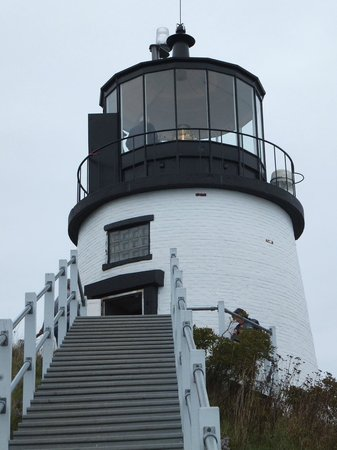 ‪‪Owls Head General Store‬: closeup of Owls Head Lighthouse‬