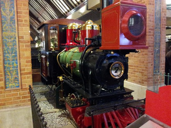 Sunset Station Hotel and Casino: this train sits inside the the hotel, cool history.