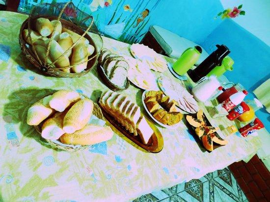 Pousada Sereia de Geriba : Café da manhã