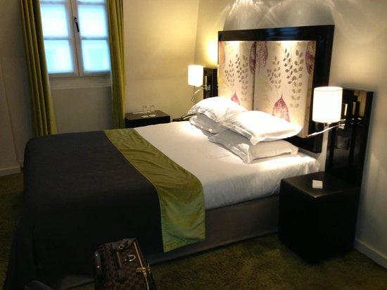 Hotel Caron: La chambre.