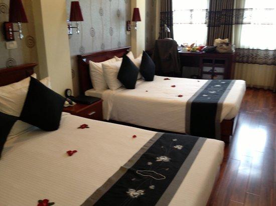 โรงแรมอาร์ทฮานอย: Room