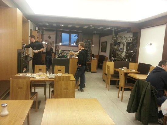 Feichter Hotel: La sala della colazione