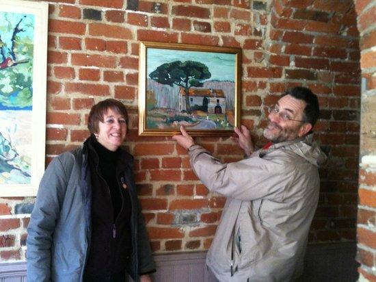 Leonora's Kitchen: Local artists work displayed