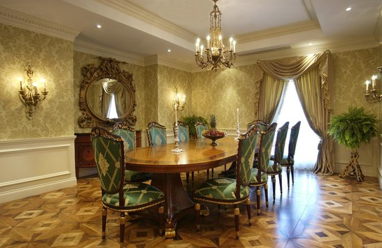 Salle A Manger Suite Presidentielle Picture Of Hotel Le St James