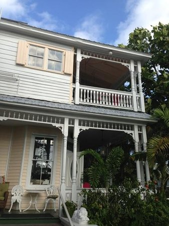 Southernmost Point Guest House: View from South street