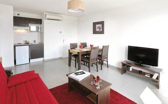 Appart'City Toulouse Aéroport Cornebarrieu : Park&Suites Elegance Toulouse Cornebarrieu - 1-bedroom Apartment