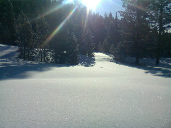 Rainbow Ranch Lodge: Nearby cross country skiing