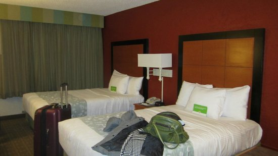 La Quinta Inn Tampa Bay Airport: our room