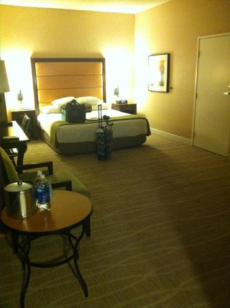 Hyatt Regency Phoenix: Size of the corner room