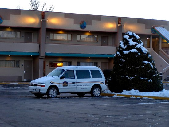 Best Western Turquoise Inn & Suites: The hotel's shuttle bus.