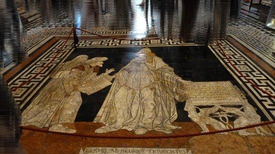 Libreria Piccolomini - Soffitto - Picture of Siena Cathedral ...