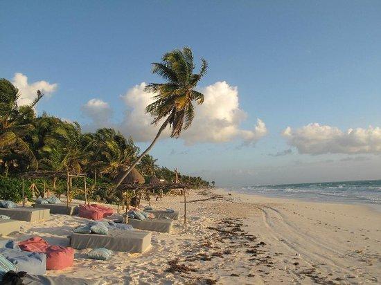 Be Tulum Hotel: the beach