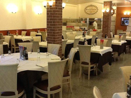 Hotel Belfiore: sala pizzeria