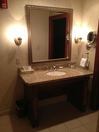 The Osthoff Resort: One Bedroom Suite batroom Counter