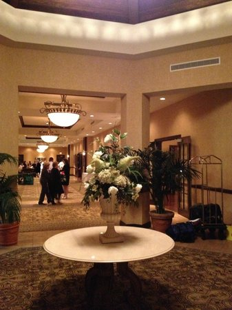 The Osthoff Resort: Entry vestibule near Conference / Reception rooms