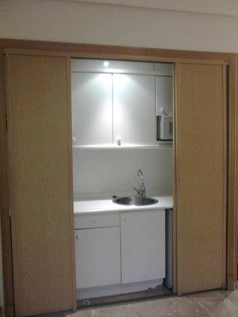 Aparthotel G3 Galeon : Cocina