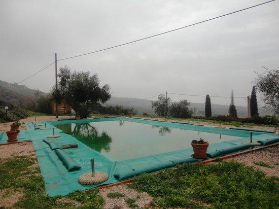 Antico Casale di Montegualandro: piscina esterna
