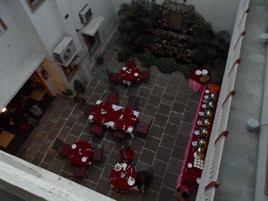 Hotel Mahal Khandela: corte interna