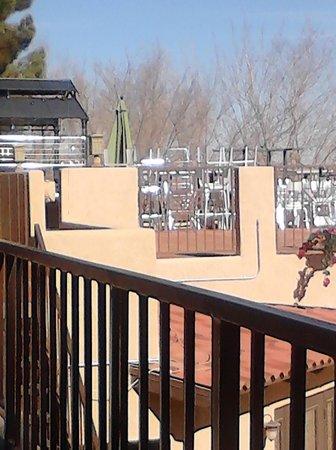 Hotel Mesilla: Rooftop bar