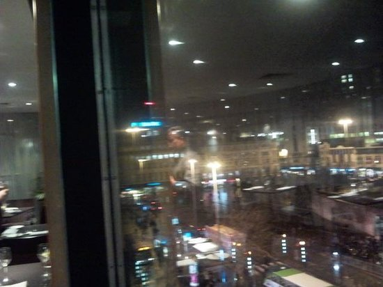 Mercure Manchester Piccadilly Hotel: bar view