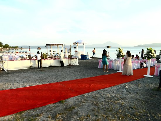 Club Balai Isabel: Wedding site ceremony